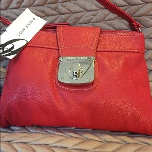 Nine West leather  Crossbody purse